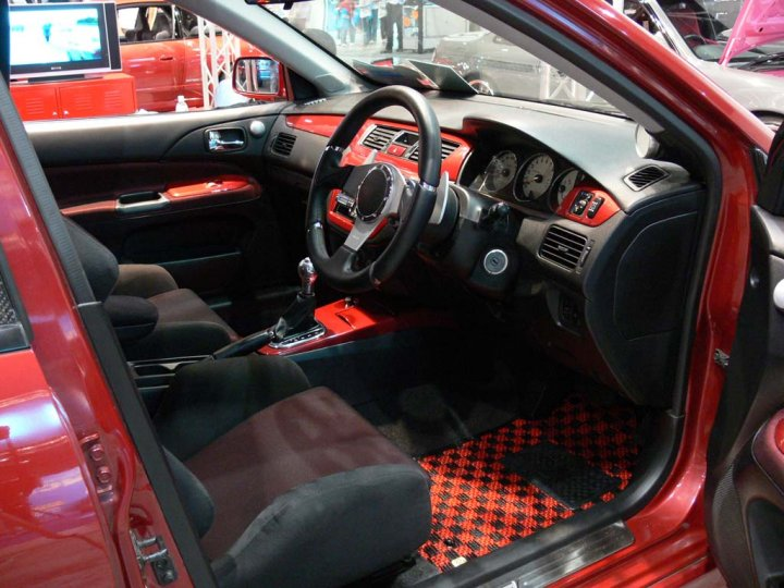 C Red Are Now Tuning The Mitsubishi Lancer Evolution C