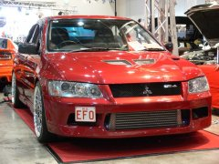 C-Red's EFO at Autosalon 2007 - Mitsubishi Evolution VII GT-A