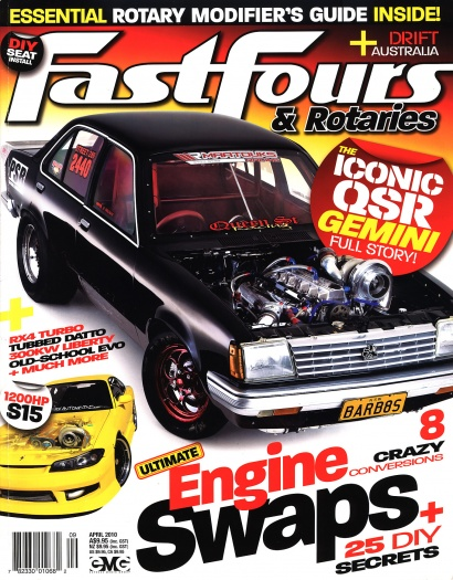 Fast Fours & Rotaries (April 2010) - Cover
