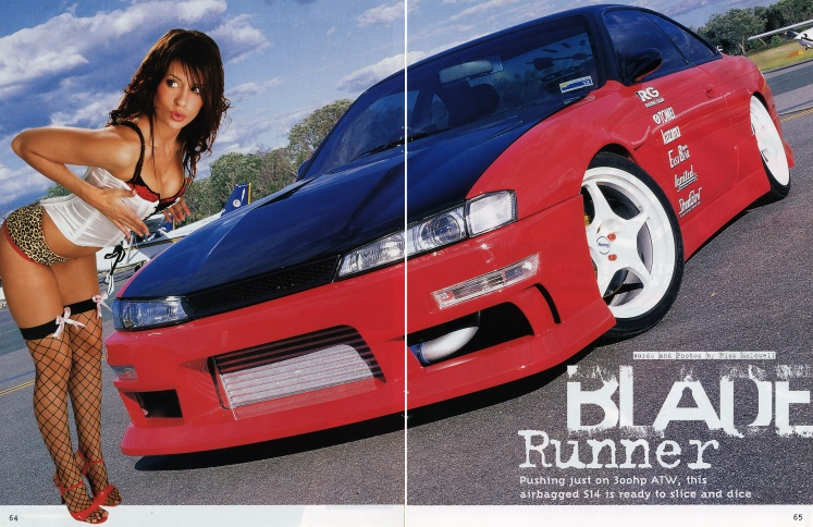 Hot 4's & Performance Cars (Nissan Special) - Pages 64-65