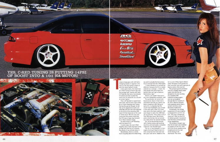 Hot 4's & Performance Cars (Nissan Special) - Pages 66-67