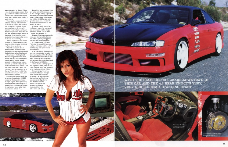 Hot 4's & Performance Cars (Nissan Special) - Pages 68-69
