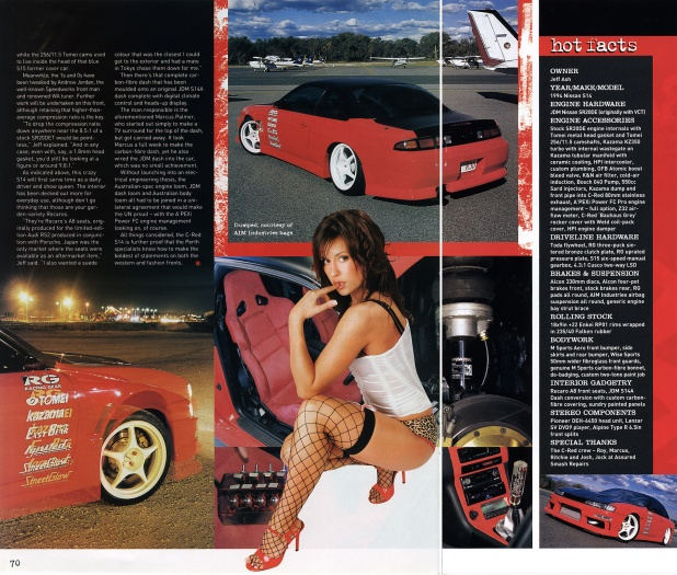 Hot 4's & Performance Cars (Nissan Special) - Pages 70-71