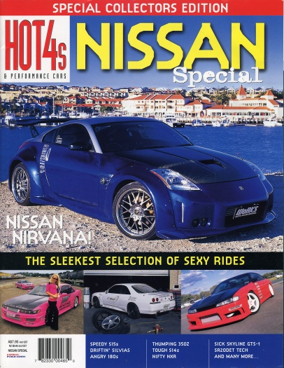 Hot 4's & Performance Cars (Nissan Special) - Cover