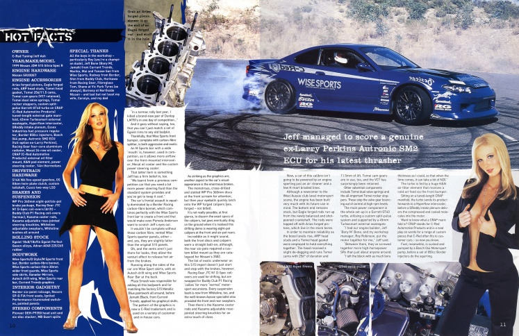 Hot 4's & Performance Cars (Nissan Special) - Pages 10-11