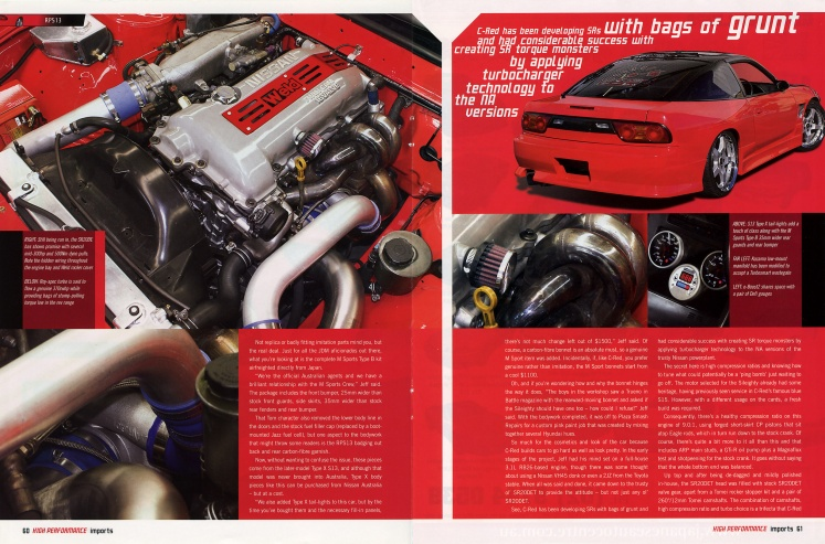 High Performance Imports (#60) - Pages 60-61