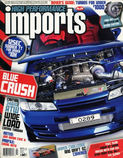 High Performance Imports (#84) - Cover