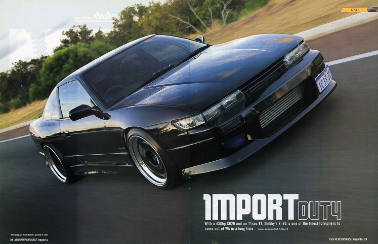 High Performance Imports (#84) - Pages 32-33